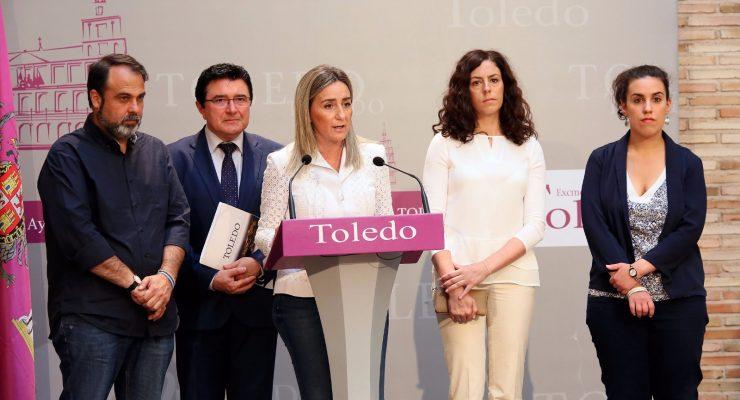 """La alcaldesa de Toledo también cierra filas en torno a Page: """"Nadie cuestiona su liderazgo"""""""