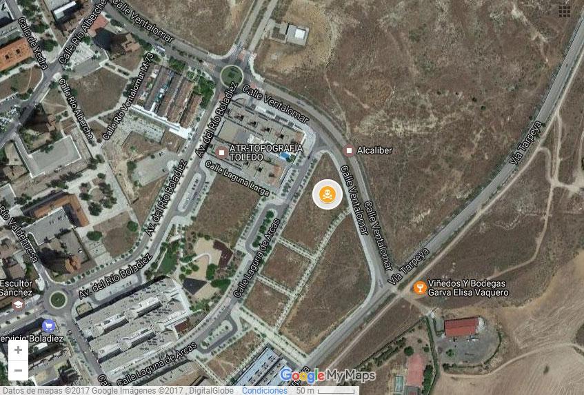 NR2- Zona 10, junto a la calle Ventalomar, otro foco de amianto