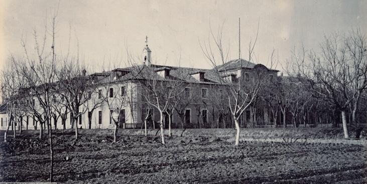 Fábrica de Armas de Toledo, entre 1868 y 1874, una de las imágenes de la exposición FOTO: Jean Laurent