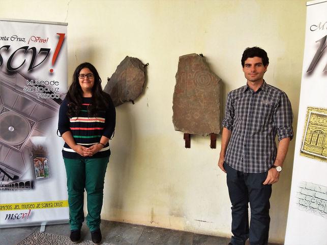 Sergio Isabel y Ángela Crespo FOTO: ASOCIACIÓN DE AMIGOS DEL MUSEO DE SANTA CRUZ ¡VIVO!