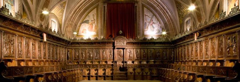 Sillería de la iglesia de Santo Domingo en Ocaña (Toledo)