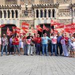 Concentraciones en Toledo y Ciudad Real contra las agresiones a los trabajadores ferroviarios