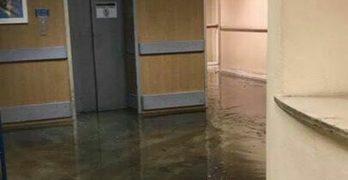 """La inundación del hospital de Toledo en junio solo dañó """"una caja de gasas"""""""