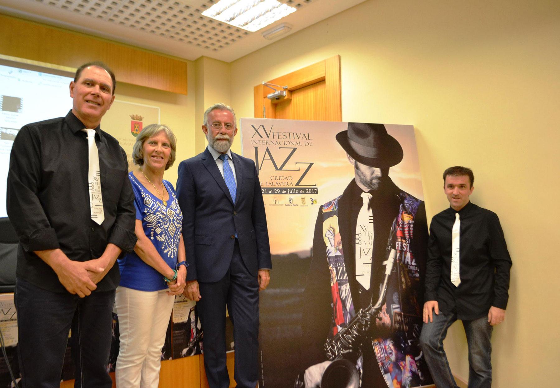 Presentación de la XV edición del Festival Internacional de Jazz de Talavera