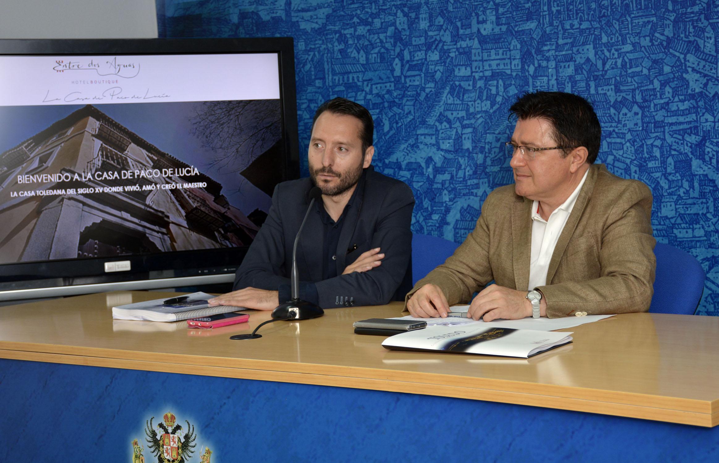 La iniciativa empresarial se presentaba en el Ayuntamiento de Toledo