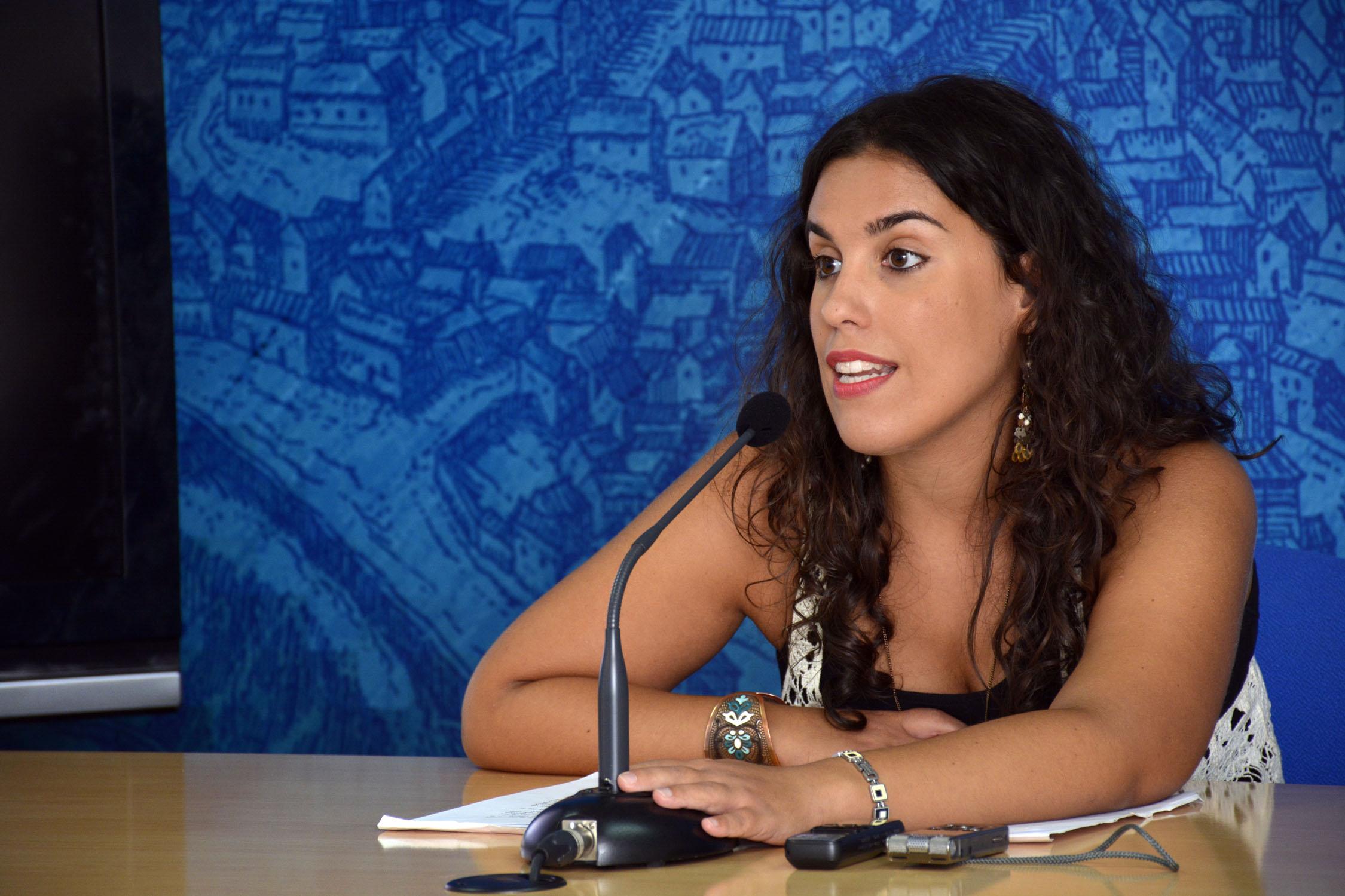 Inés Sandoval. FOTO: Ayuntamiento de Toledo