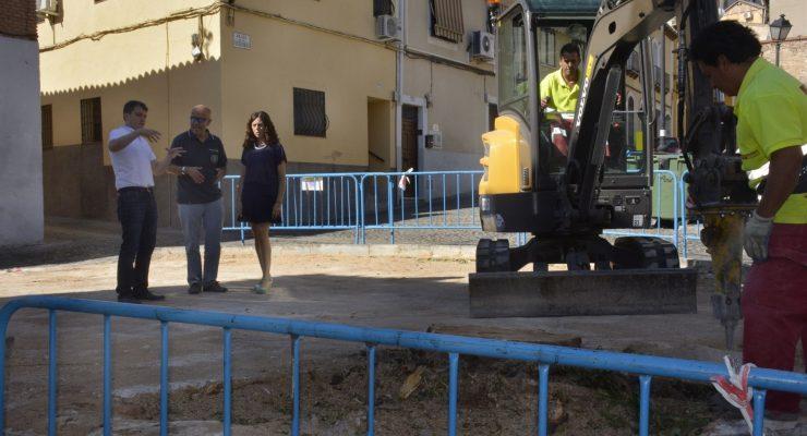 Toledo inicia las obras de recuperación de un espacio público en el barrio de Covachuelas-Antequeruela