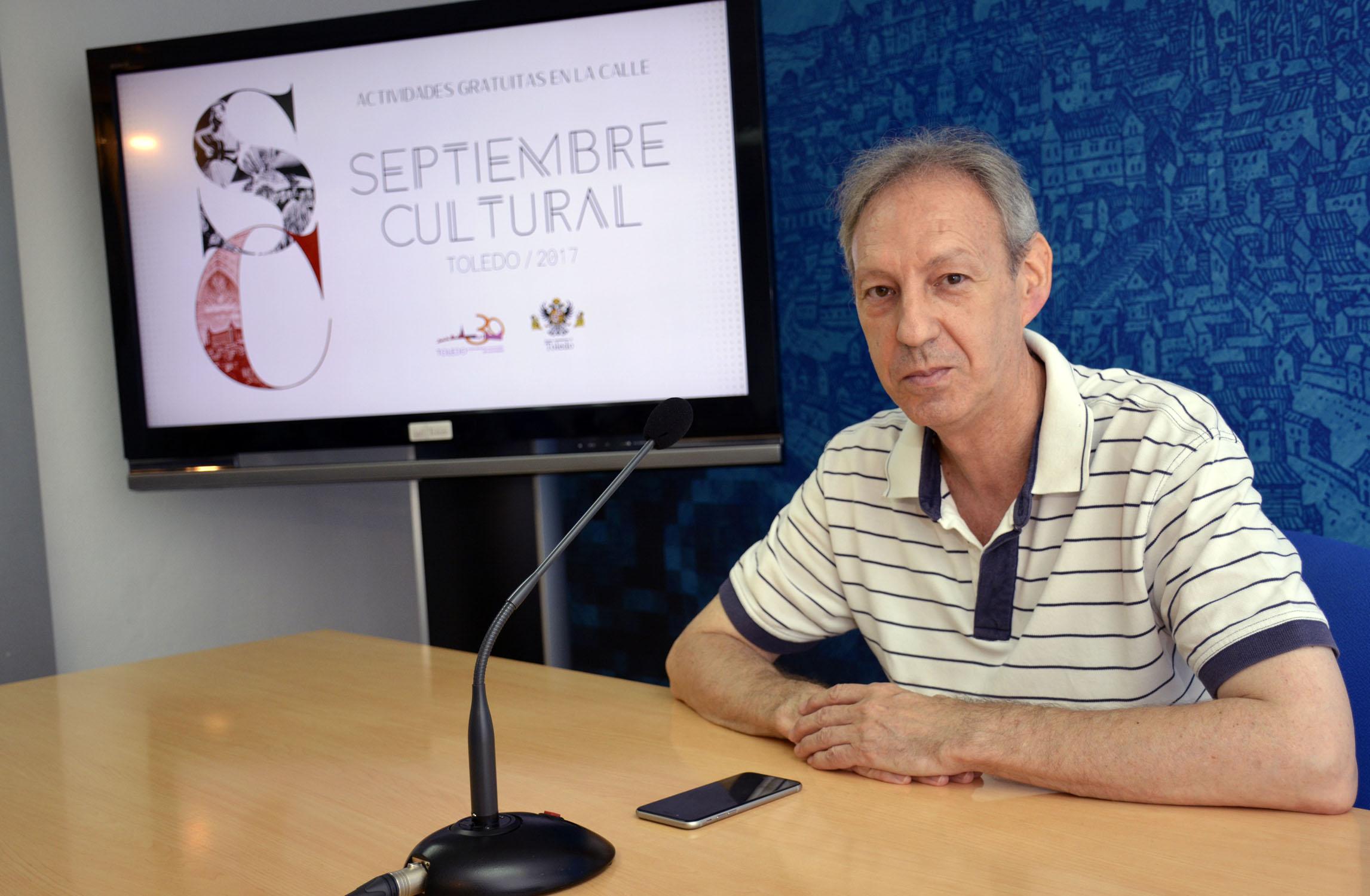 El concejal de Cultura, José María González, ha presentado la propuesta