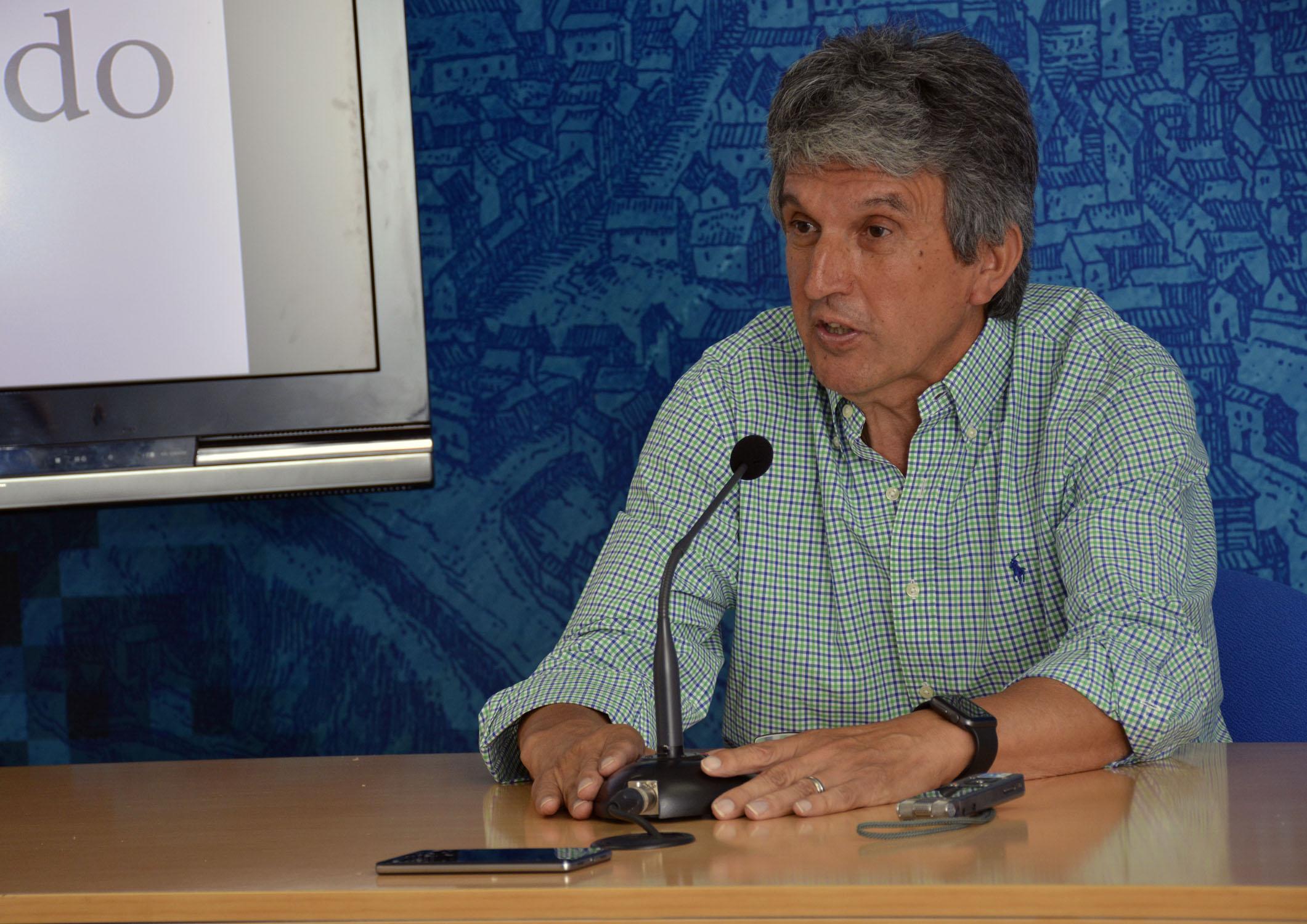 José Pablo Sabrido, portavoz del equipo de Gobierno