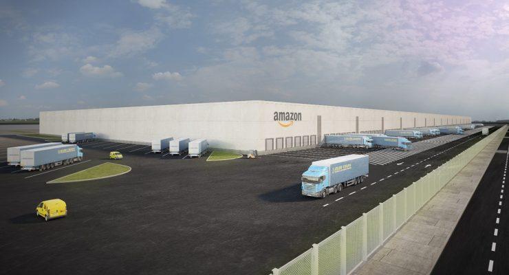 El centro de Amazon en Illescas tendrá una superficie útil de más de 100.000 metros cuadrados
