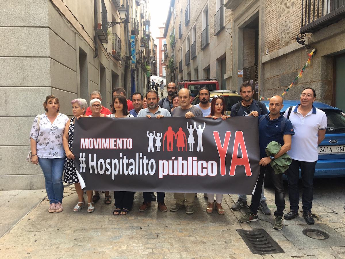 Concentración del movimiento 'Hospitalito ya'