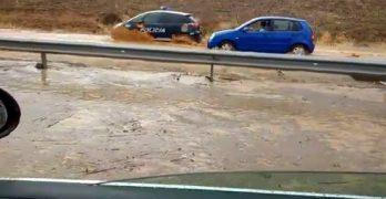 Toledo investiga por qué se inundó el acceso al Polígono tras las intensas lluvias