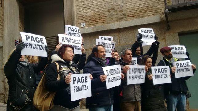 Manifestación de 'Hospitalito Ya'