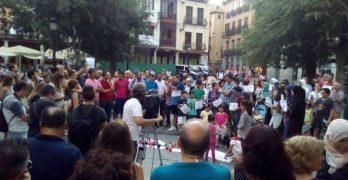 La comunidad musulmana de Toledo se concentra en rechazo al terrorismo