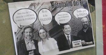 Aparecen carteles por Toledo para pedir la reapertura del Hospitalito del Rey