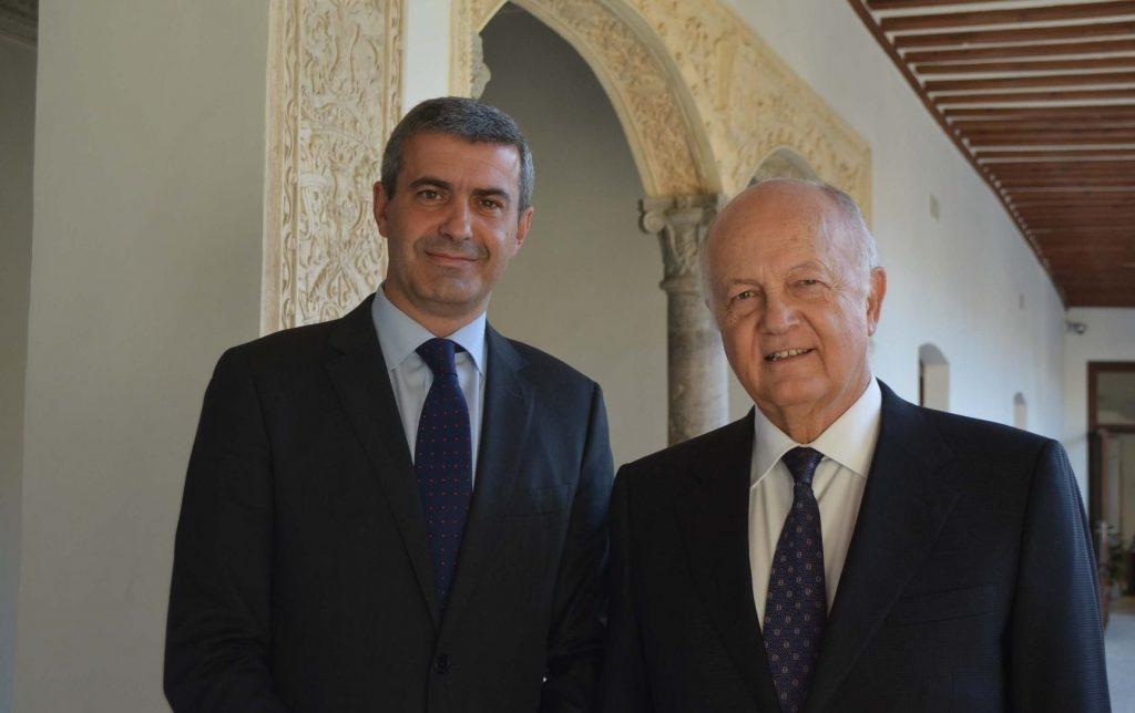 Álvaro Gutiérrez y Juan Ignacio de Mesa