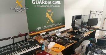Detenidos tras medio centenar de delitos en la provincia de Toledo