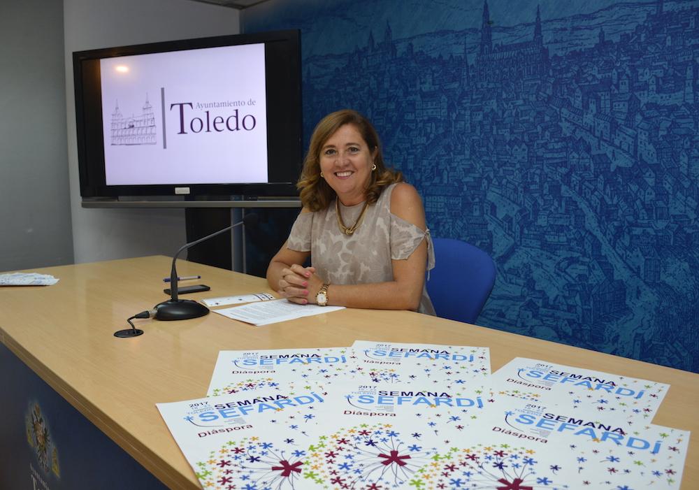 Presentación de la Semana Sefardí. FOTO: Ayuntamiento de Toledo