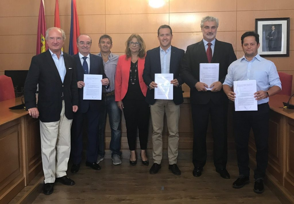Firma convenio Parquijote_18-09-17