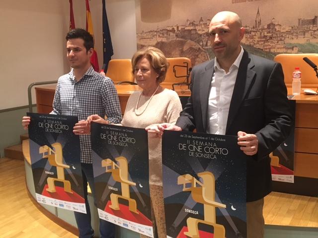 Presentación de la II Semana de Cine Corto de Sonseca. FOTO: Teresa Sánchez
