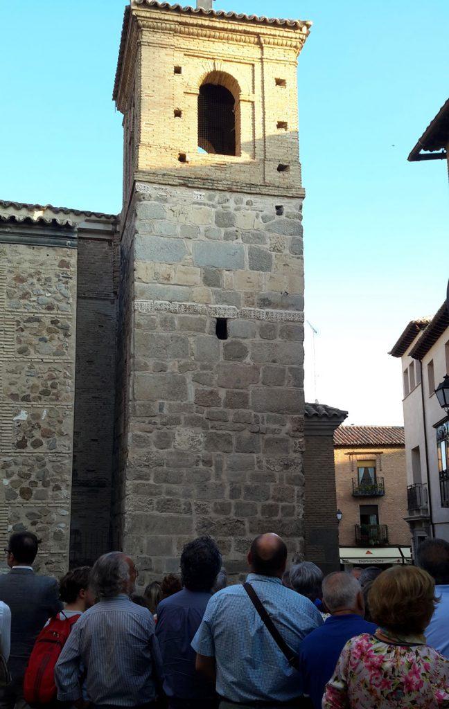 En la Iglesia de El Salvador de Toledo se encuentran muchos vestigios visigodos