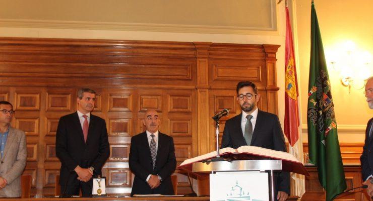 Luis Martín, alcalde de Cedillo del Condado, nuevo diputado provincial de Ciudadanos en Toledo