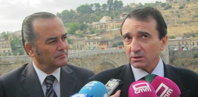 Miguel Antolín, a la derecha. Foto: Europa Press