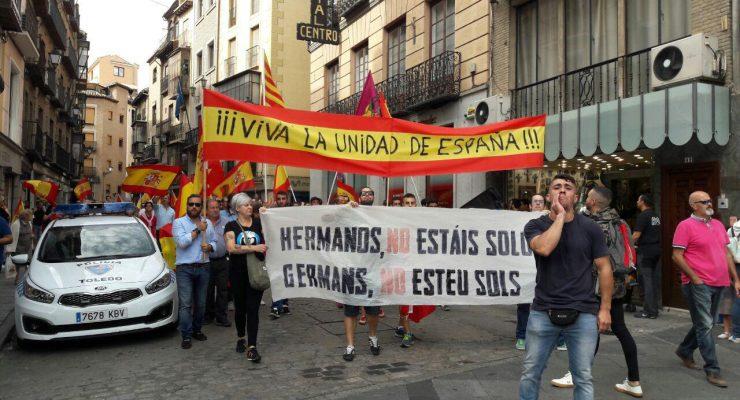 """Ganemos pide la dimisión del delegado del Gobierno por su """"inacción"""" en manifestaciones ilegales de ultraderechistas enToledo"""