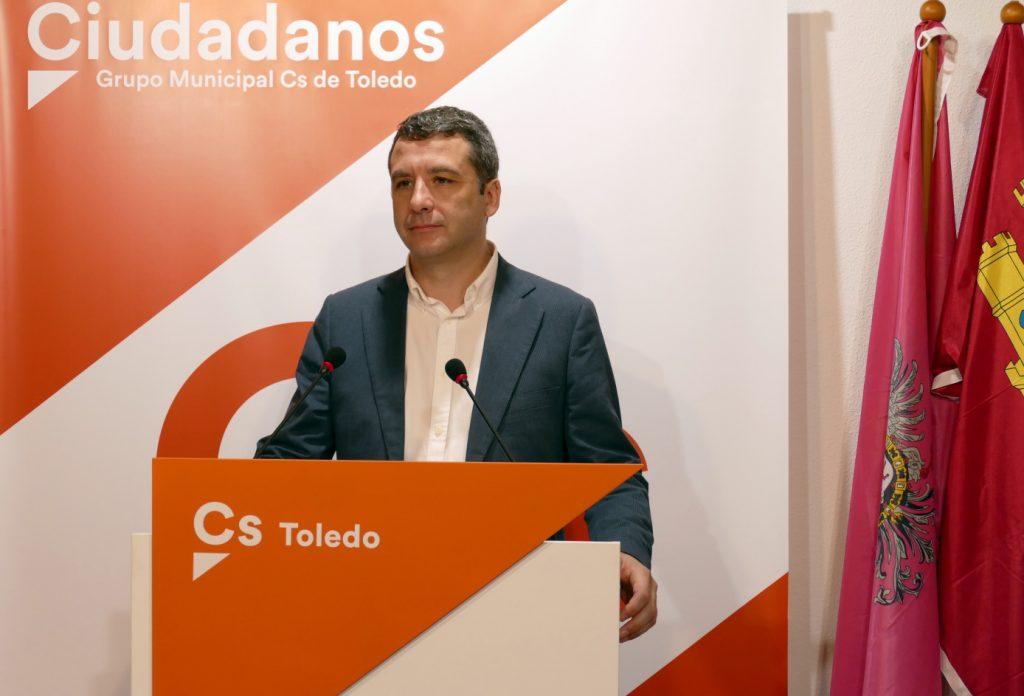 El concejal de Ciudadanos, Esteban Paños