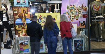 VÍDEO | Performances y una ruta guiada para conocer el arte urbano de 'Cohete Toledo'