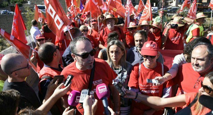 """Toledo se pone en marcha por unas pensiones """"dignas"""""""
