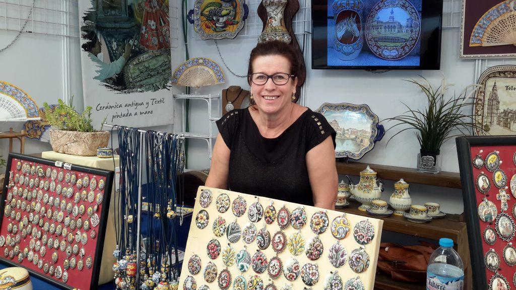 Isabel Rueda, artesana de Segurilla