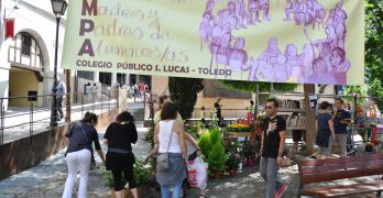 Toledo celebra un mercadillo solidario para ayudar a las familias más desfavorecidas con el material escolar