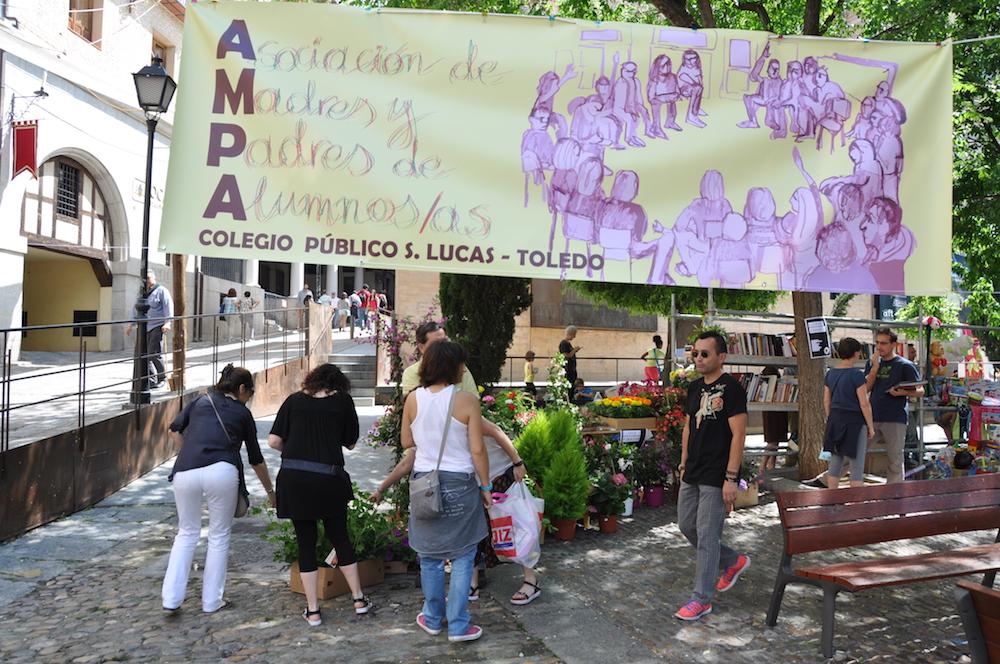 Mercadillo del 2016 FOTO: AMPA del Colegio Público San Lucas y María