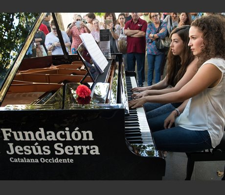 """Pianos en las calles de Toledo para """"democratizar"""" la música clásica"""