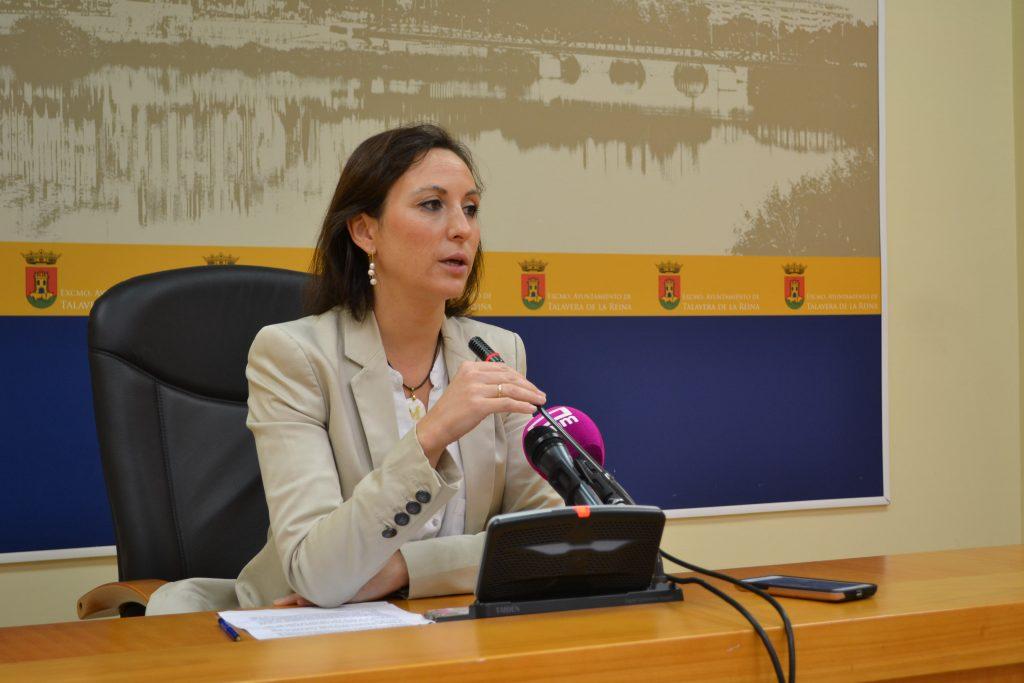 María Rodríguez. FOTO: Ayuntamiento de Talavera