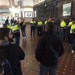 """Los trabajadores de Alstom, en huelga por un la negociación """"estancada"""" de un nuevo convenio"""