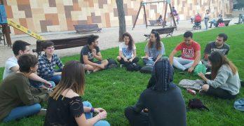 Los estudiantes se unen en Toledo por la lucha sindical y contra la desinformación