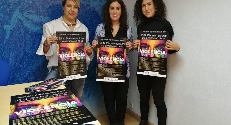 Comienzan en Toledo los actos por el Día Internacional de la Eliminación de la Violencia contra la mujer