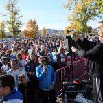 Más de 5.000 toledanos en la 'Vuelta al Tajo'