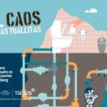 'El caos de las toallitas', campaña de concienciación del Ayuntamiento de Toledo y Tagus