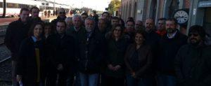 Frente común político y social en defensa del ferrocarril para la provincia de Toledo