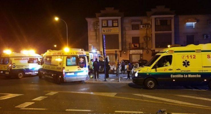 Cinco hospitalizados tras un incendio en el hostal Los Gavilanes de Toledo