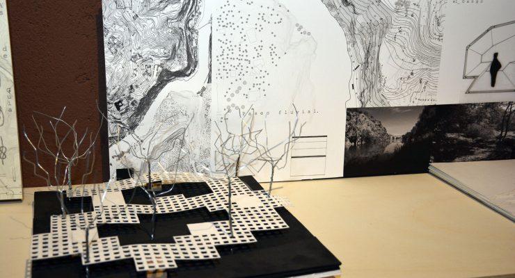 Los jóvenes arquitectos exponen sus propuestas para mejorar las riberas del Tajo en la Cámara Bufa