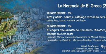 'La Herencia del Greco', dos jornadas con conferencias en la Real Fundación de Toledo