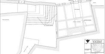 Tres semanas de obras para mejorar el acceso al Ayuntamiento de Toledo