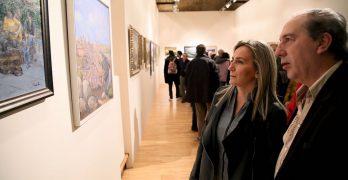 Una exposición de pintura conmemora los 20 años del grupo 'Tres colores, tres culturas'
