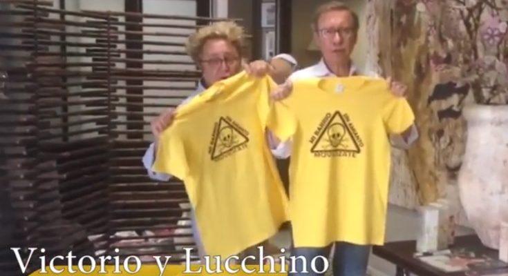 El chef Pepe Rodríguez, Luar Na Lubre o los modistos Victorio y Lucchino, contra el amianto en Toledo