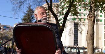 """El alcalde pide """"solidaridad"""" con Talavera de la Reina en el día de la Constitución"""