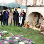 Caja Rural inaugura su Belén en Toledo con nueva protesta animalista